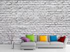 Fliis-fototapeet White brick 360x270 cm ED-90660