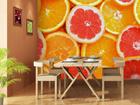 Fliis-fototapeet Oranges 360x270 cm ED-90704