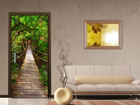 Fliis-fototapeet Green Bridge 90x202 cm ED-91080