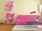 Fliis-fototapeet Pink orchids 90x202 cm ED-91140