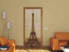 Fliis-fototapeet Paris Eiffel Tower 90x202 cm ED-91432