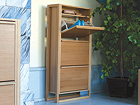 Jalatsikapp NewEst Shoe Cabinet 3 Door WO-92044