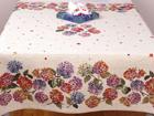 Gobeläänkangast laudlina Hortensiad 100x100 cm TG-92082