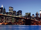 Fliis-fototapeet Brooklyn bridge 360x270 cm ED-94814