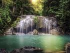 Fliis-fototapeet Waterfall 360x270 cm ED-94842
