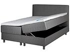 Hypnos voodi 160x200 cm kahe pesukastiga