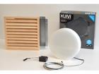 Süvistatav LED saunavalgusti puitrestiga Kuivi