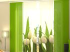 Läbipaistev paneelkardin White Tulips 240x240 cm ED-97503