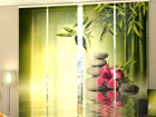 Poolpimendav paneelkardin Bamboo Leaves 240x240 cm ED-97507