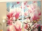 Läbipaistev paneelkardin Magnolias 240x240 cm ED-97527