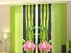 Poolpimendav paneelkardin Orchids and Bamboo 3, 240x240 cm ED-97531