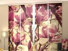 Läbipaistev paneelkardin Pink Magnolias 240x240 cm ED-97594