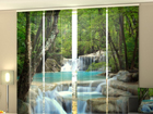 Pimendav paneelkardin Thai Waterfall in Spring 240x240 cm ED-97638