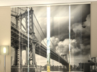 Pimendav paneelkardin Black and White bridge 240x240 cm ED-97716