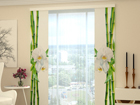 Pimendav paneelkardin Bamboo and white orchid 80x240 cm ED-97734