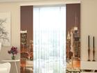 Läbipaistev paneelkardin Evening Manhattan 80x240 cm ED-97771