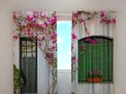 Poolpimendav kardin Flowers on the window 240x220 cm ED-97960