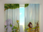 Pimendav kardin Funny animals 240x220 cm ED-97995
