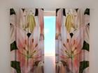 Läbipaistev kardin Gorgeous lilies 240x220 cm ED-98083