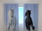 Läbipaistev kardin Horses 1, 240x220 cm ED-98184