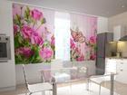 Läbipaistev kardin Pink Overtones 200x120 cm ED-98298