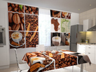 Pimendav kardin Coffee Africa 200x120 cm ED-98337