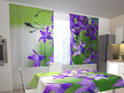 Poolpimendav kardin Blue bellflowers 200x120 cm ED-98340