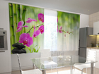 Pimendav kardin Crimson orchids in the kitchen 200x120 cm ED-98440