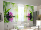 Läbipaistev kardin Orchids and sun in the kitchen 200x120 cm ED-98542
