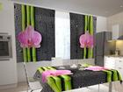 Poolpimendav kardin Orchids and bamboo 2, 200x120 cm ED-98553