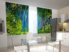Poolpimendav kardin Waterfall behind the window 200x120 cm ED-98566