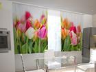 Poolpimendav kardin Tulips in the kitchen 200x120 cm ED-98569