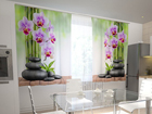 Pimendav kardin Orchids and stones in the kitchen 200x120 cm ED-98598