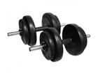Hantlite komplekt 2x3-10 kg TC-98599