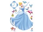 Seinakleebis Disney Cinderella 42,5x65 cm