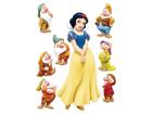 Seinakleebis Disney Snow White 42,5x65 cm
