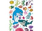 Seinakleebis Dolphin 42,5x65 cm