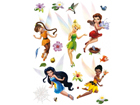 Seinakleebis Disney fairies 65x85 cm ED-98829