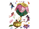 Seinakleebis Disney fairies in a balloon 65x85 cm ED-98832