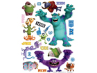 Seinakleebis Disney Monsters 65x85 cm ED-98850