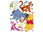 Seinakleebis Disney Winnie the Pooh 65x85 cm ED-98853