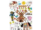 Seinakleebis Farm 65x85 cm ED-98901