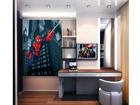 Fliis-fototapeet Spiderman's spider web 180x202 cm ED-99083