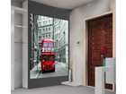 Fliis-fototapeet London bus 180x202 cm ED-99120