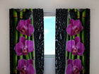 Läbipaistev kardin Luxury orchid 240x220 cm ED-99404