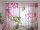 Šifoon-fotokardin Royal Roses 240x220 cm ED-99947
