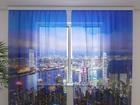 Šifoon-fotokardin Hong Kong 240x220 cm ED-99950