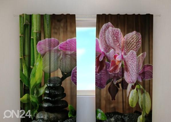 Läbipaistev kardin Sparkling orchid 240x220 cm ED-100434