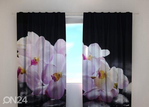 Pimendav kardin Orchids on stones 240x220 cm ED-100504