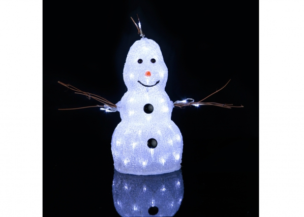 Akrüülist kuju Snowman 38 cm AA-101100
